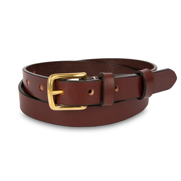 Bridle Leather Belt - 1""