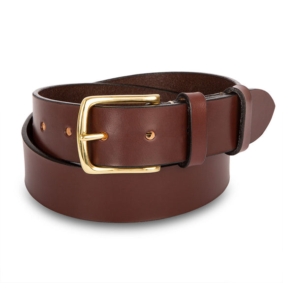 Bridle Leather Belt - 1 ½""