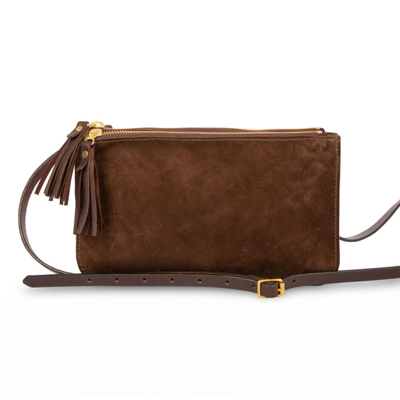 Suzie zipped multi pocket shoulder bag