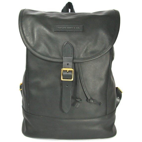 Taylor Kent & Co Leather Rucksack in Black