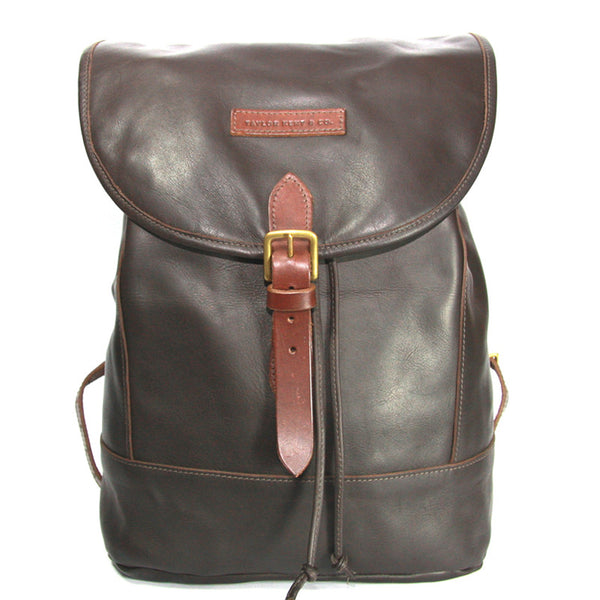 Taylor Kent & Co Leather Rucksack in Brown