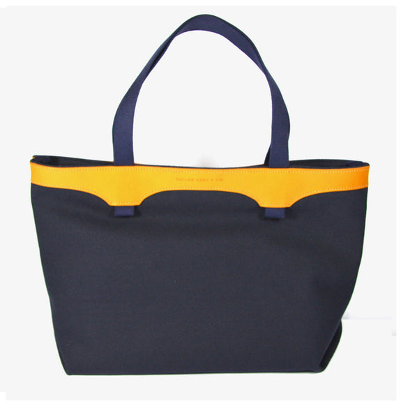 Taylor Kent & Co Canvas Shopper in Navy