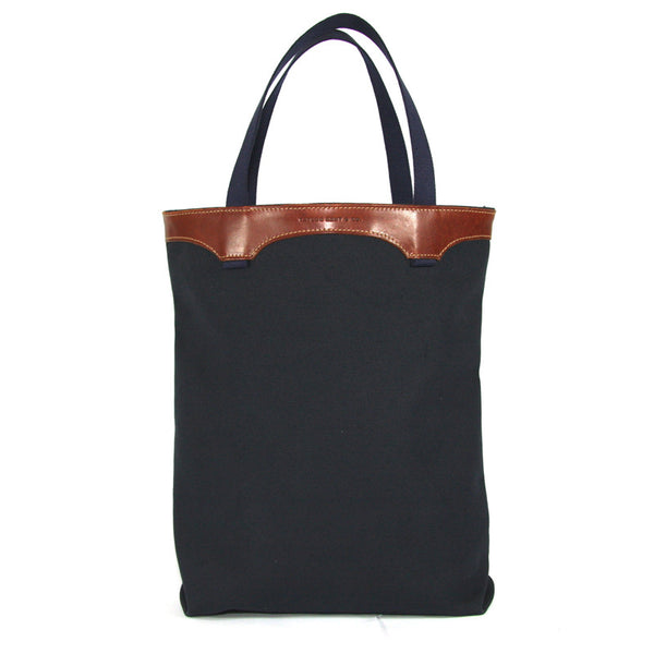 Taylor Kent Canvas Tote Bag in Black