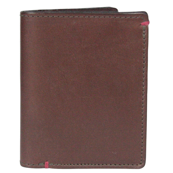 Taylor Kent & Co Men's Slim-line Plain Wallet in Brown