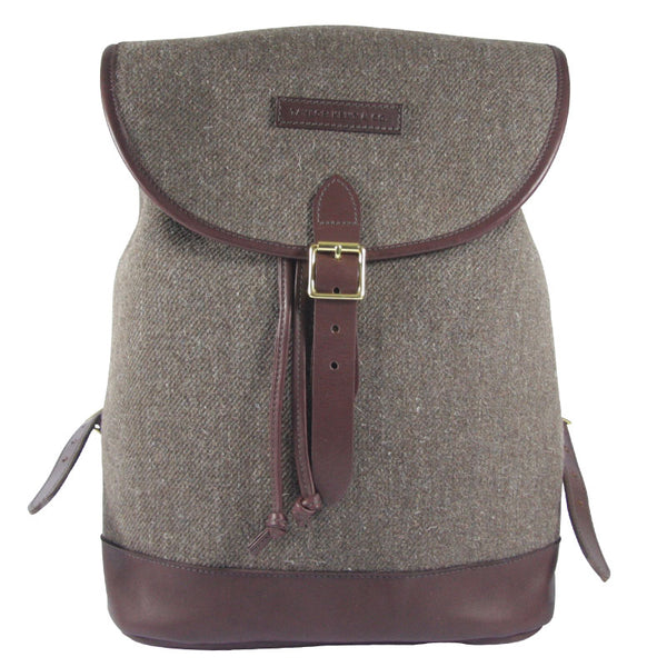 Taylor Kent & Co Tweed Rucksack