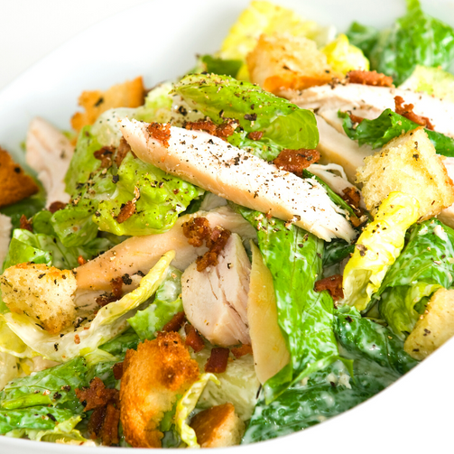 Chicken Caesar Salad Platter - Food - Lafrance Hospitality Shop
