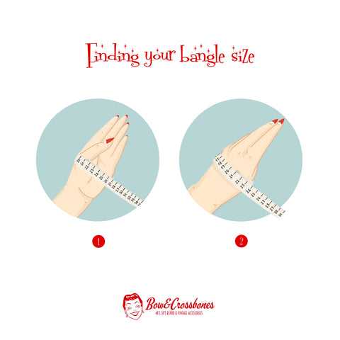 How to measure your hand for bracelet and bangle size