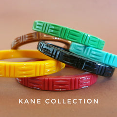 Kane carved wicker fakelite collection