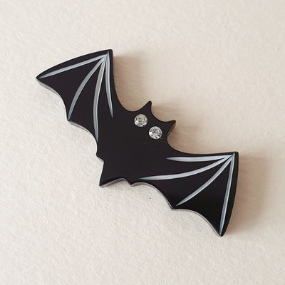 Victor Bat Brooch *Limited Edition* - SOLD OUT! - Bow & Crossbones LTD
