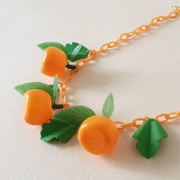 Orange Fruit Necklace *Limited Edition* - Bow & Crossbones LTD