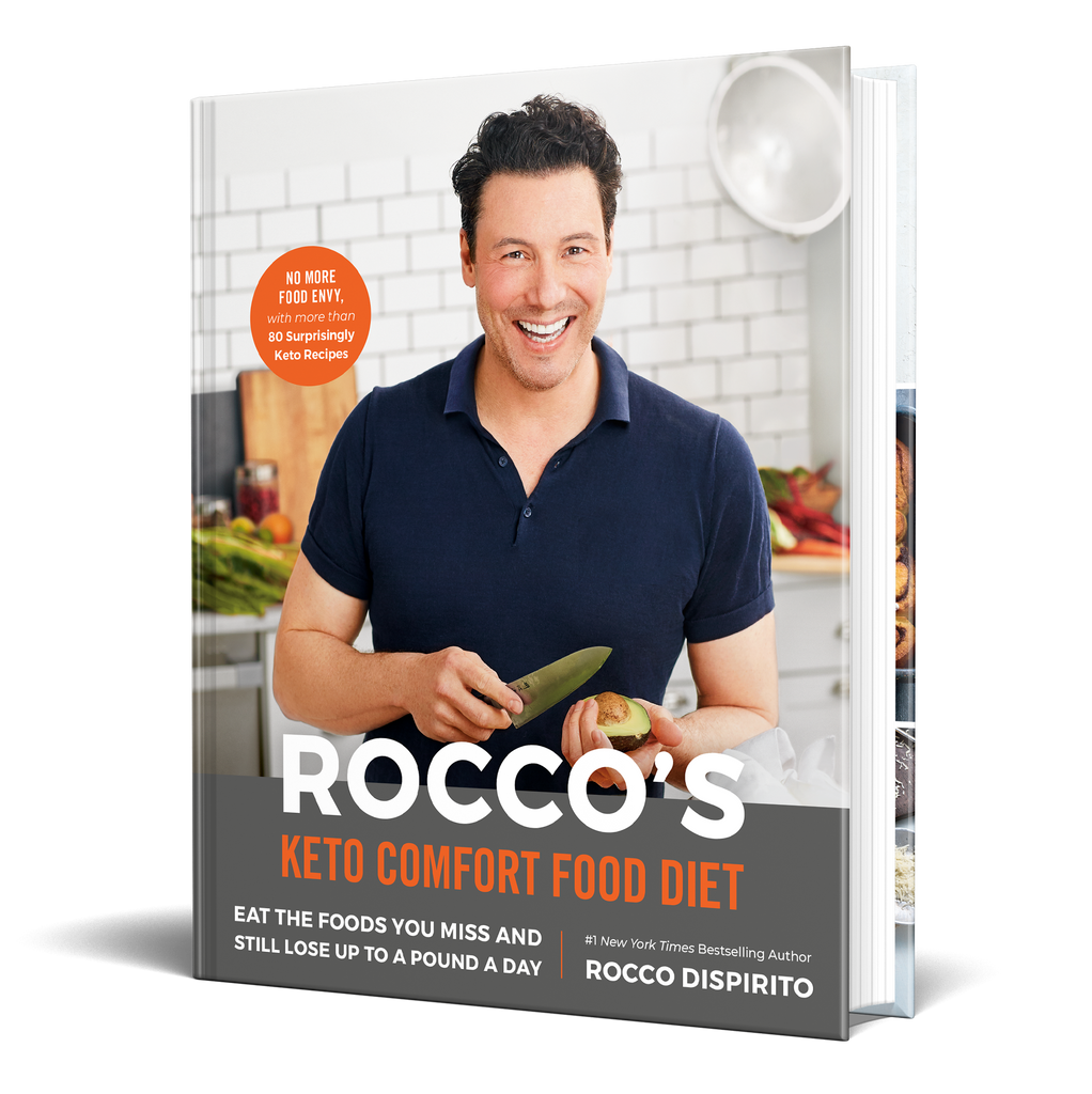 Roccos Keto Comfort Food Diet -Signed Copy