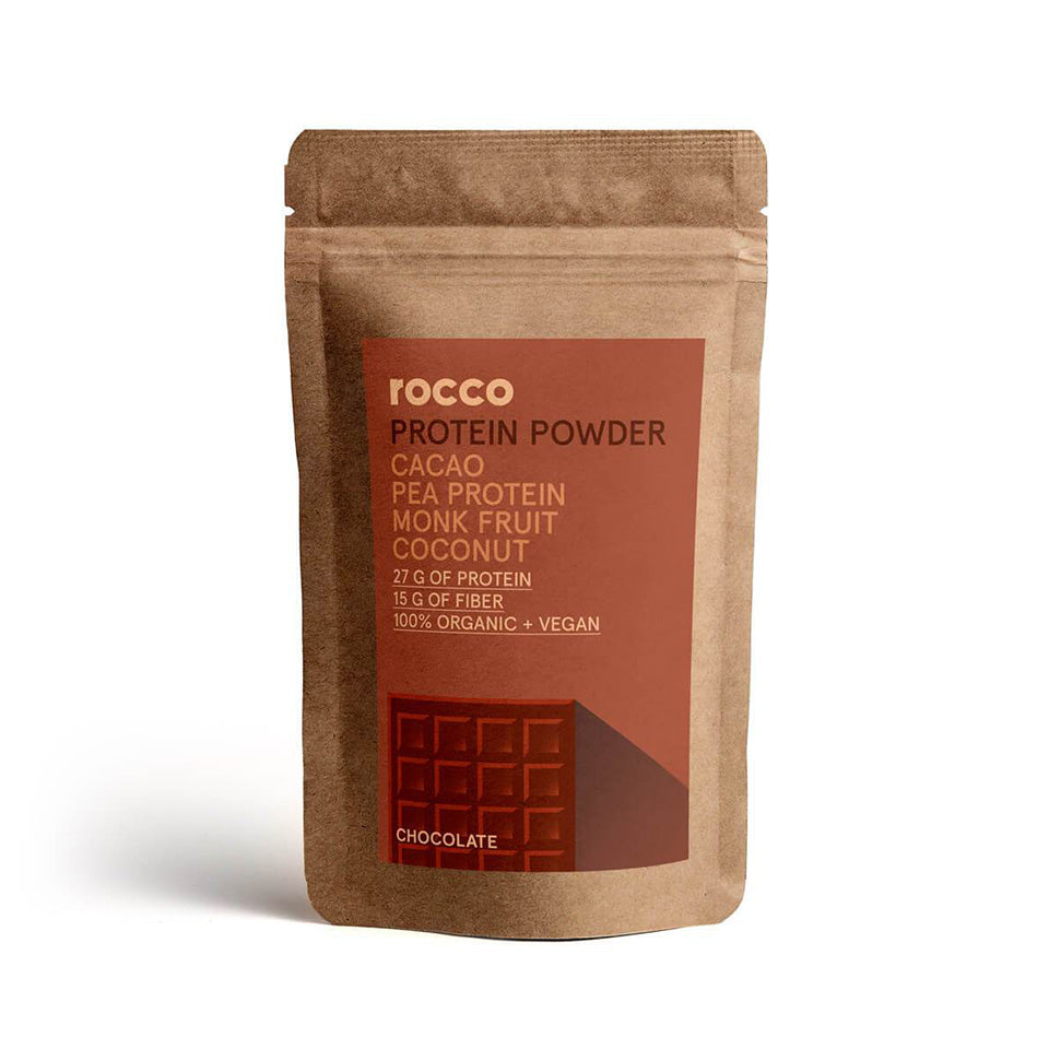 Rocco Raw Organic Protein Powder (Chocolate Flavor)