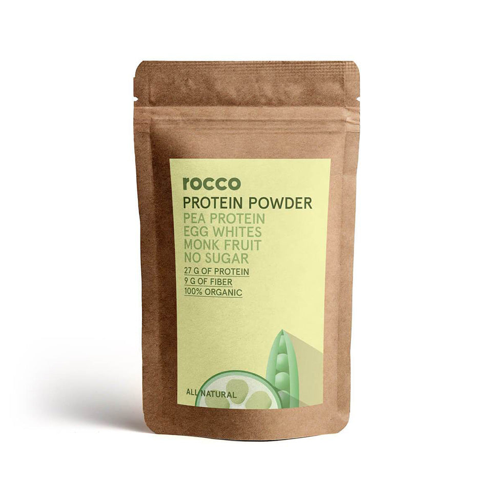 Rocco Raw Organic Protein Powder (Natural Flavor)