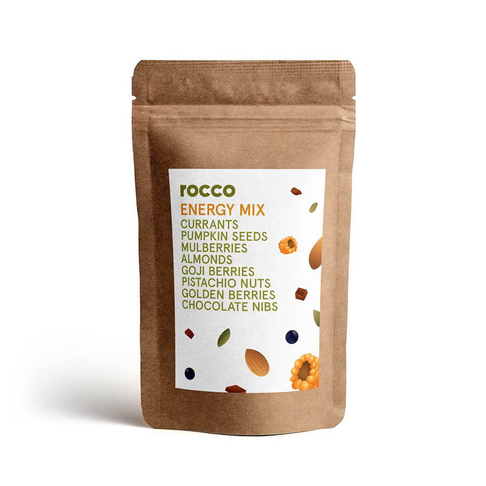 Rocco Chocolate Hearts Vegan Energy Mix