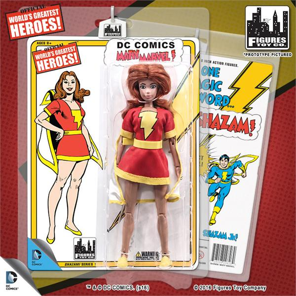 Shazam Retro 8 Inch Action Figures Series 1: Mary Marvel