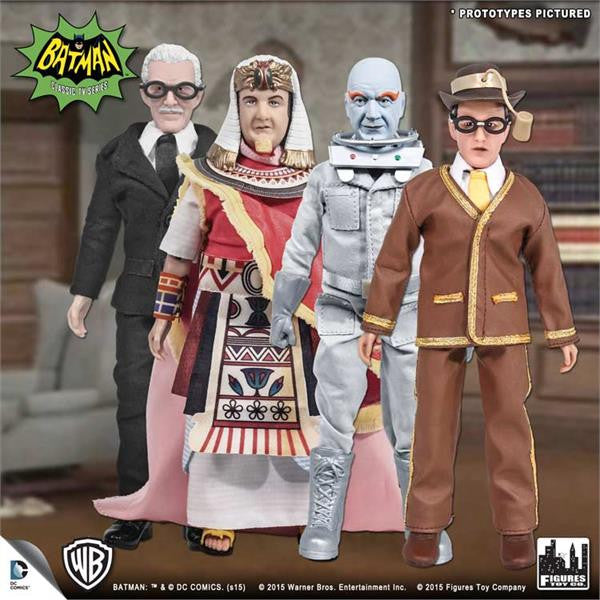 Batman Classic TV Series Deluxe Figurines: Set of 4 (D)