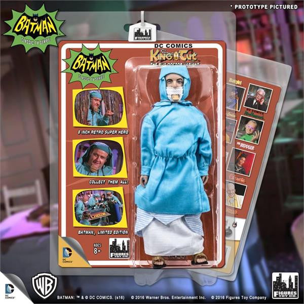 Batman Classic 1966 TV Series Retro 8 Inch Action Figures Villain Variant Series: King Tut