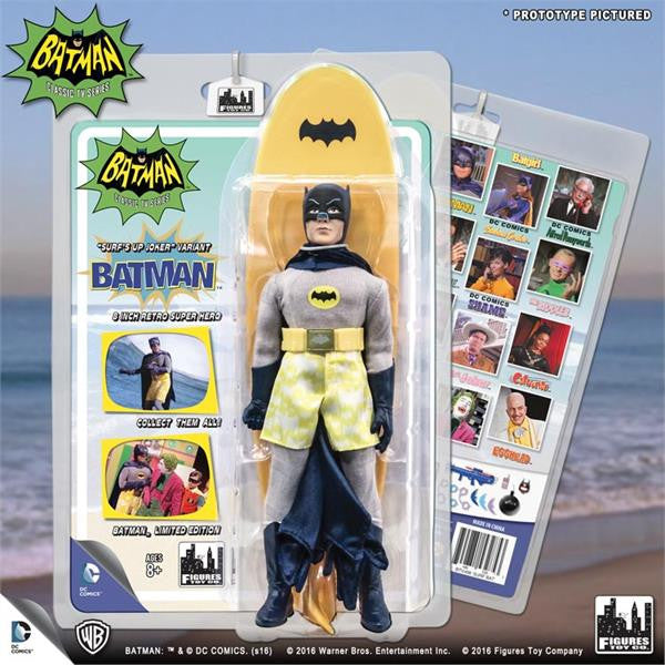 Batman Classic 1966 TV Series Retro Figurine: Surfing Batman