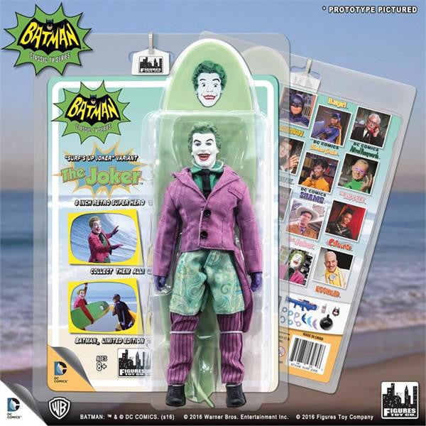 Batman Classic 1966 TV Series Retro Figurine: Surfing Joker