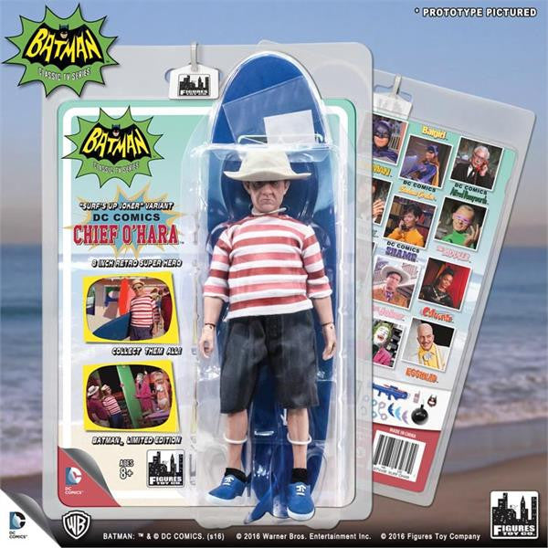 Batman Classic 1966 TV Series Retro Figurine: Surfing Chief O'Hara