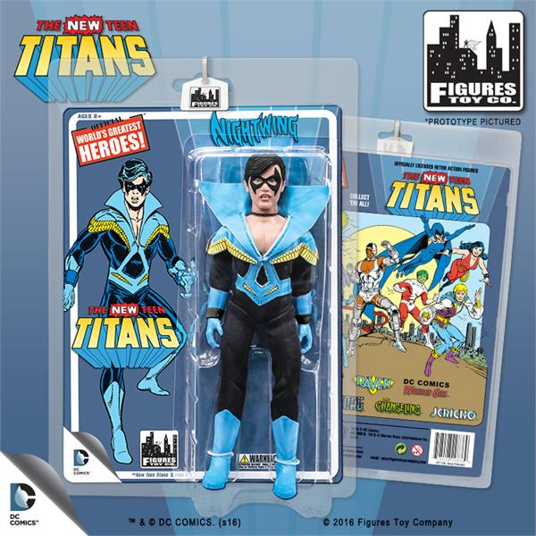 The New Teen Titans Retro 8 Inch Action Figures Series 1: Nightwing