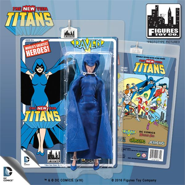 The New Teen Titans Retro 8 Inch Action Figures Series 1: Raven