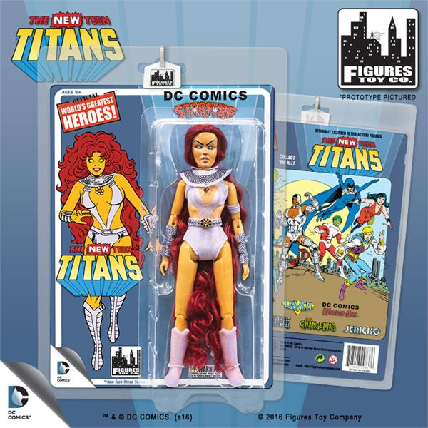 The New Teen Titans Retro 8 Inch Action Figures Series 1: Starfire