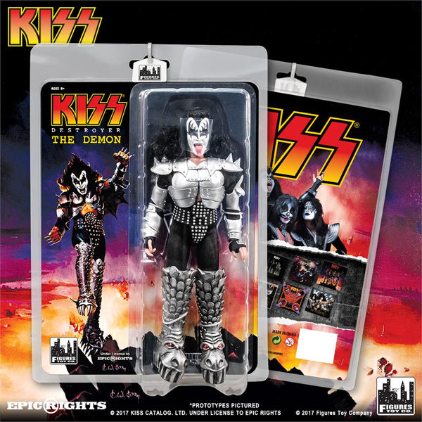 KISS 8 Inch Action Figures Series 7 Destroyer: The Demon