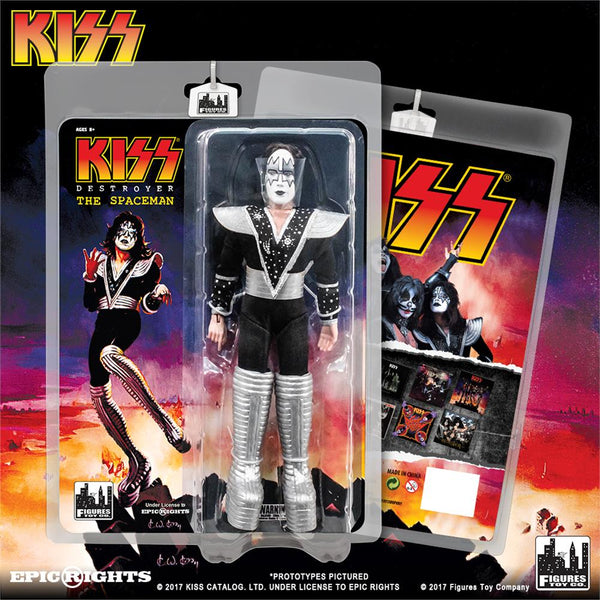 KISS 8 Inch Action Figures Series 7 Destroyer: The Spaceman