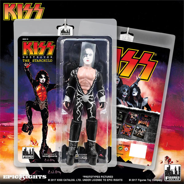 KISS 8 Inch Action Figures Series 7 Destroyer: The Starchild