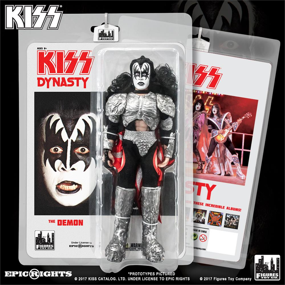 KISS 8 Inch Action Figures Series 8 Dynasty: The Demon