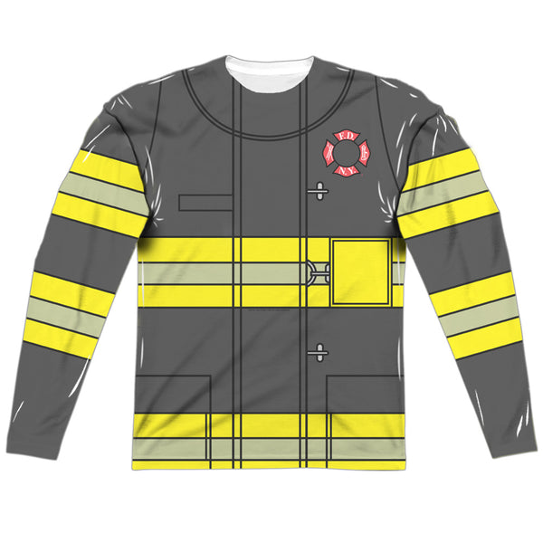 Firefighter Uniform - New York (front & back)