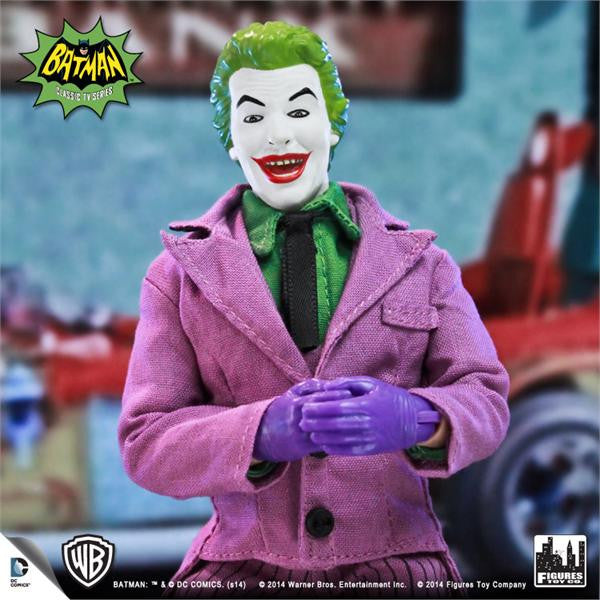 Batman Classic TV Series 8 Inch Deluxe Figurine: The Joker