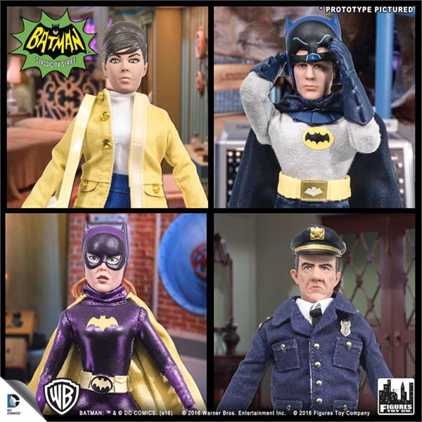 Batman Classic TV Series Deluxe Figurines: Set of 4 (E)
