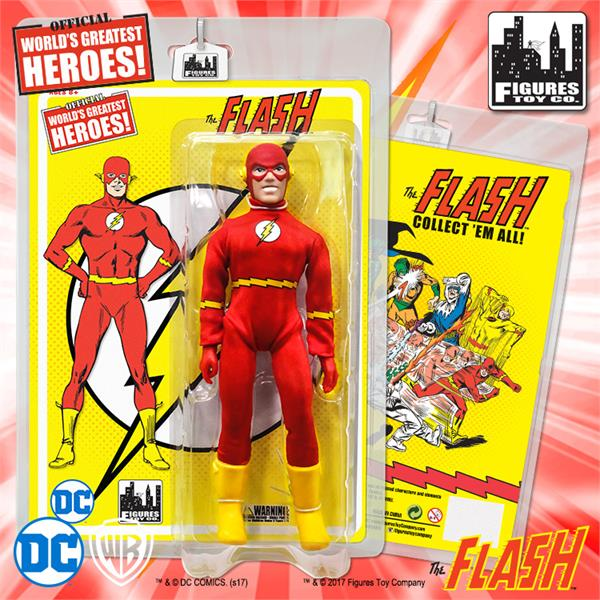 Flash Retro 8 Inch Action Figures Series 1: Flash
