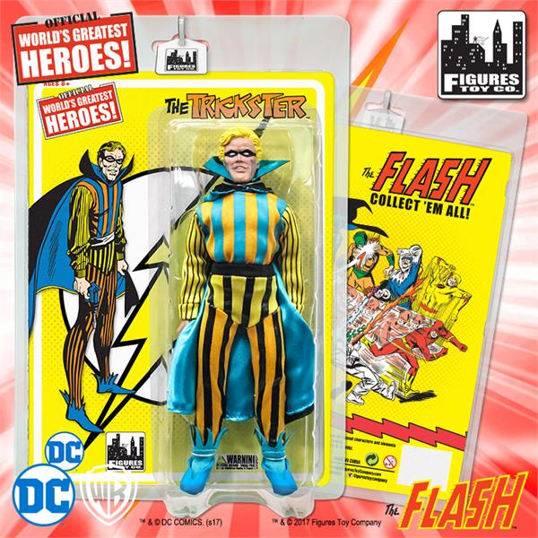 Flash Retro 8 Inch Action Figures Series 1: Trickster