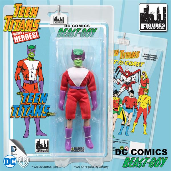 Teen Titans 7 Inch Action Figures Series Two: Beast Boy