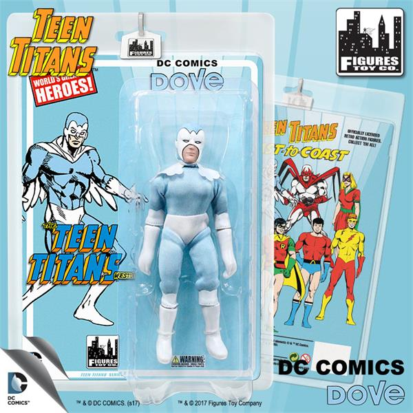 Teen Titans 7 Inch Action Figures Series Two: Dove