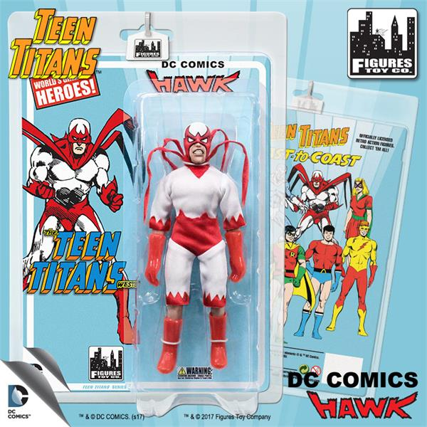 Teen Titans 7 Inch Action Figures Series Two: Hawk