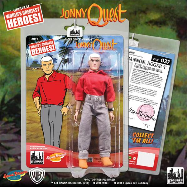 Jonny Quest Retro Action Figures Series 1: Race Bannon