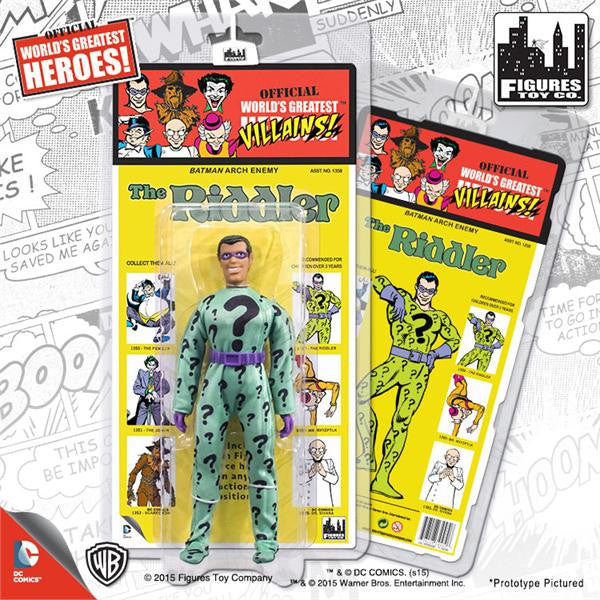 DC Comics Retro Kresge Style Action Figures Series 1: Riddler
