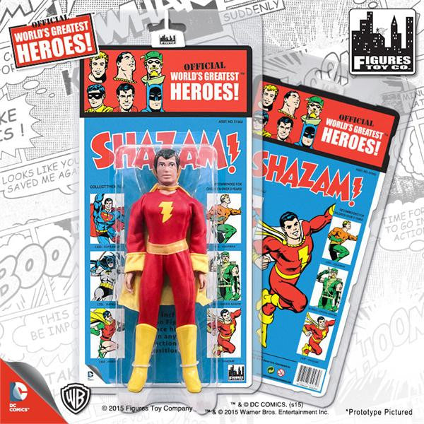 DC Comics Retro Kresge Style Action Figures Series 1: Shazam