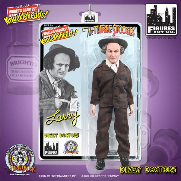 The Three Stooges 8 Inch Deluxe Figurine: Dizzy Doctors Larry