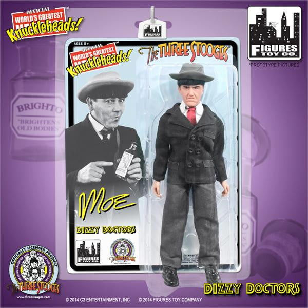The Three Stooges 8 Inch Deluxe Figurine: Dizzy Doctors Moe