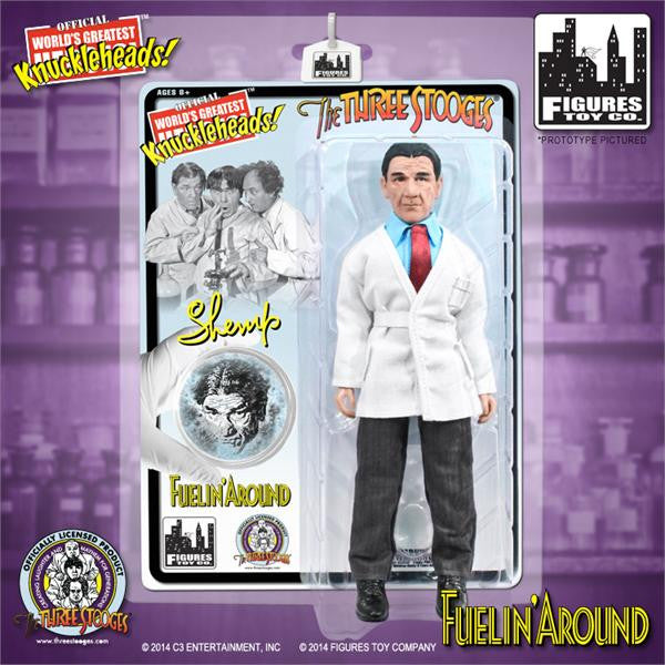 The Three Stooges 8 Inch Deluxe Figurine: Fuelin' Around Shemp