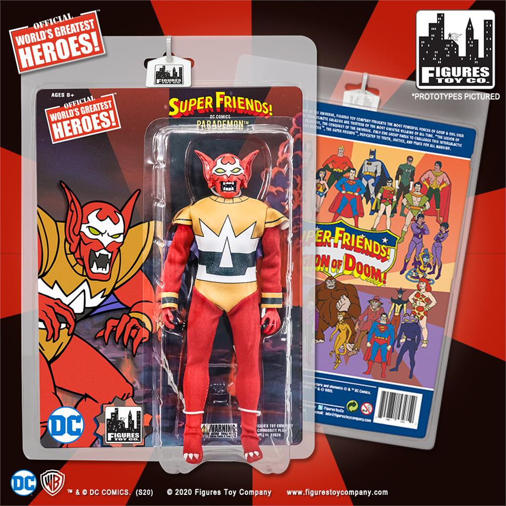 Super Friends Action Figures Series: Parademon