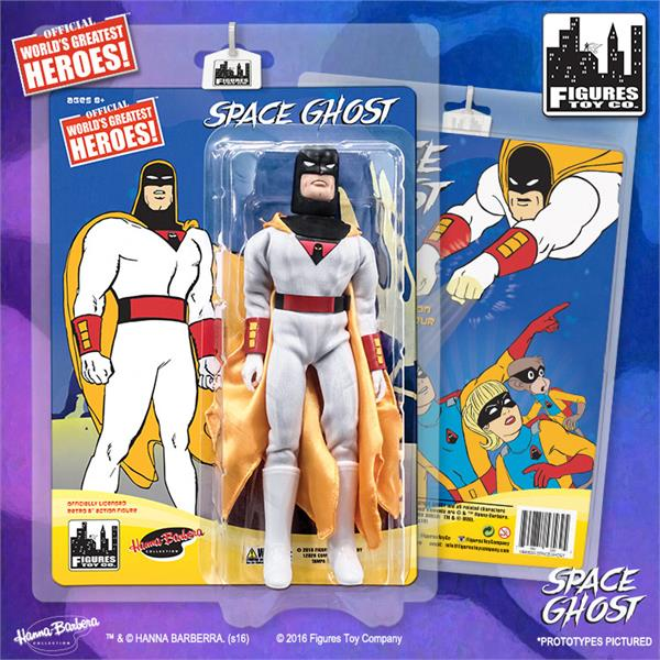 Space Ghost Retro 8 Inch Action Figures Series: Space Ghost