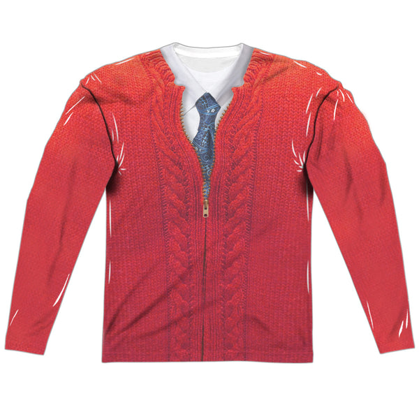 Mister Rogers - Mister Rogers Sweater Costume (front & back)