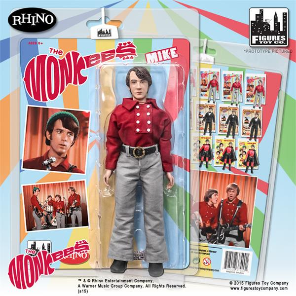 The Monkees 8 Inch Action Figures Series One Red Band Outfit: Mike Nesmith