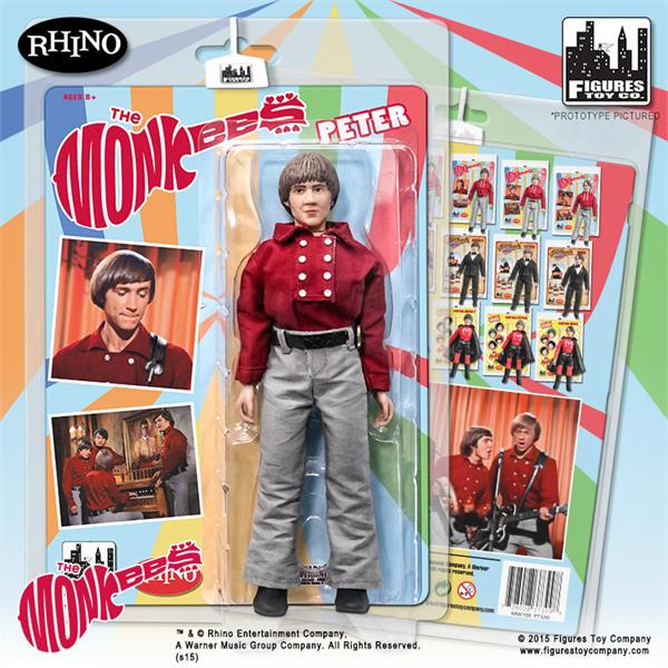 The Monkees 8 Inch Action Figures Series One Red Band Outfit: Peter Tork